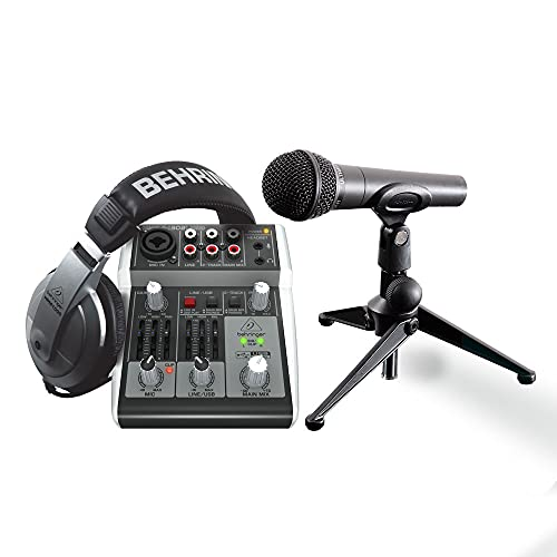 Behringer Podcastudio 2 USB Kit Completo de Home Studio