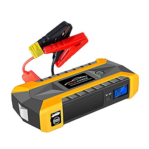 Learn More About LINGYAO Large-Capacity Car Starter, A Multi-Purpose Convenient to Carry 4Usb Rechar...