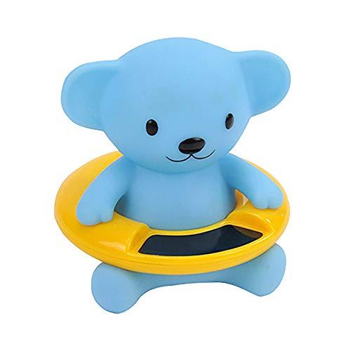 Gobesty Termómetro de baño para bebé, termómetro de agua digital, termómetro de baño para bebé, termómetro para baño seguro (oso de dibujos animados)