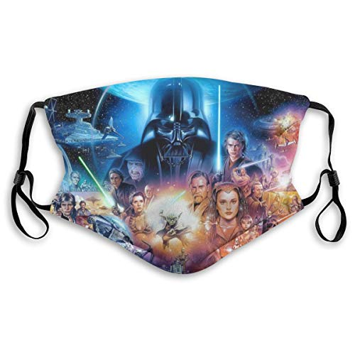 Star War SagaFace Mask Balaclava Windproof Men's Women's Dustproof Mouth Cover Adjustable Elastic Strap
