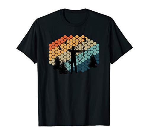3D Bogenschießen Bogenjagd Bogenparkour Pfeil & Bogen Sport T-Shirt