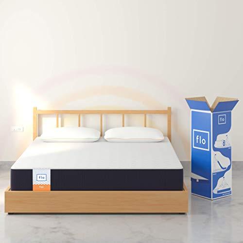 Flo Ergo Gel Memory Foam + Proprietary Responsive Foam Mattress, 72x72x6 Inches (King)