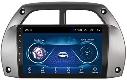 Autoradio Android 9.0, Radio per Toyota Rav4 2001-2006 Navigazione GPS unità Principale da 9 Pollici Lettore multimediale MP5 Ricevitore Video con WiFi FM Bluetooth,WiFi 1g+16g