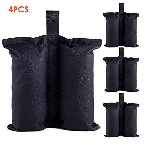 Wallfire Schwere Gewicht Taschen Sandsack Pavillon Zelt Bein Gewicht Tasche Für Outdoor Sun Shelter Pop up Baldachin Zelt (4 Pack)