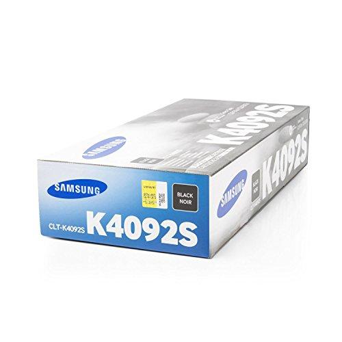 Original Samsung CLT-K4092S / K4092 Toner (schwarz, ca. 1.500 Seiten) für CLP 310, 315; CLX 3170, 3175