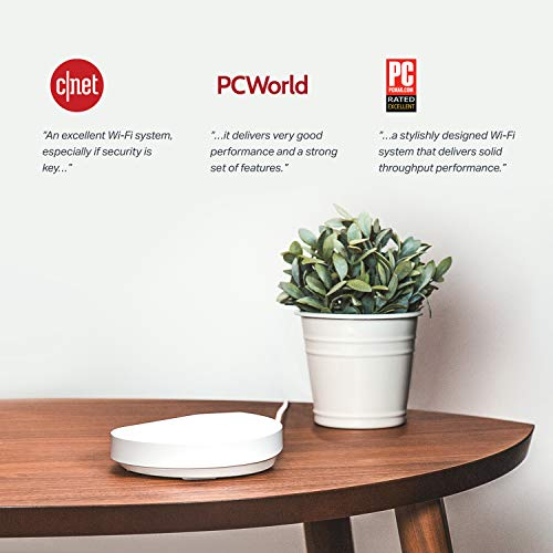 TP-Link Deco Mesh WiFi System –Up to 5,500 sq. ft. Whole Home Coverage and 100+ Devices,WiFi Router/Extender Rep   lacement, Parental Controls/Anitivirus, Seamless Roaming(Deco M5 3-pack)