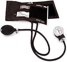 Prestige Medical 79-BLK Standard Aneroid Sphygmomanometer,Black