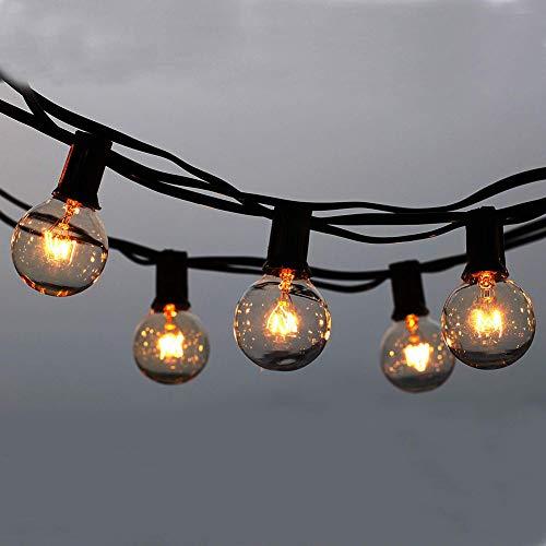 Outdoor snoerlamp, string feestoon verlichting, waterdicht binnen/buitenschnoer licht ideaal voor terras, café, tuin, bruiloft, feestoon-feestdecoratie