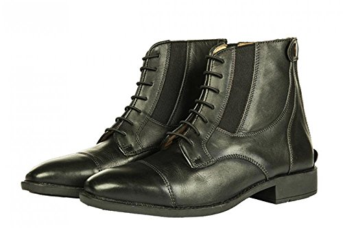 HKM Stiefeletten -Rex Classic- mit Elastikeinsatz, Schuhgrösse 36, schwarz