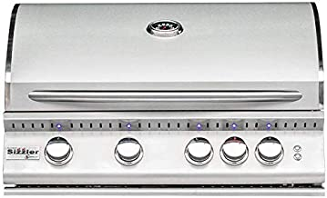 Summerset Sizzler Pro 32-inch 4-burner Built-in Propane Gas Grill With Rear Infrared Burner - Sizpro32-lp