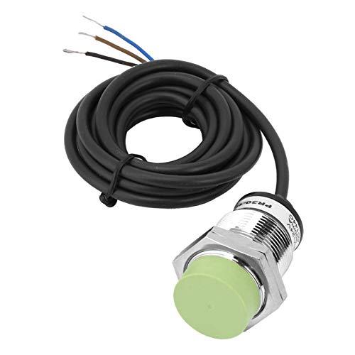 Interruptor, interruptor de proximidad Latón niquelado PR30-15DN NPN NO Detección de interruptor de sensor de proximidad inductivo 15 mm