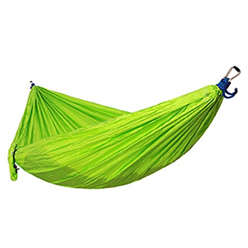 YOSIYO Single Double Hommock Outdoor Camping Backpacking Portable Swing Bed Nylon Hanging Hommock, Green