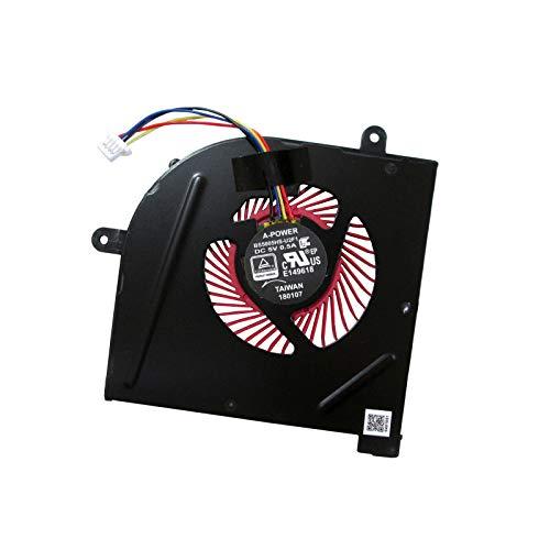 UTS-Shop Ventola di raffreddamento per processore, adatta per MSI Stealth Pro GS63 GS63VR GS73 GS73VR MS-17B1 Notebook Serie