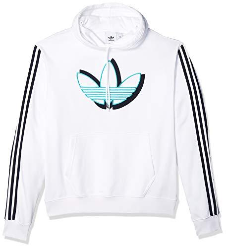 adidas Originals Shadow Tref HDY Sudadera con Capucha, Blanco, XL Mens