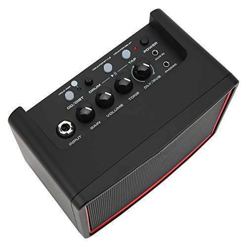 amplificador de guitarra 3 métodos de alimentación 4Ω5W altavoz versión 4.2 luz...