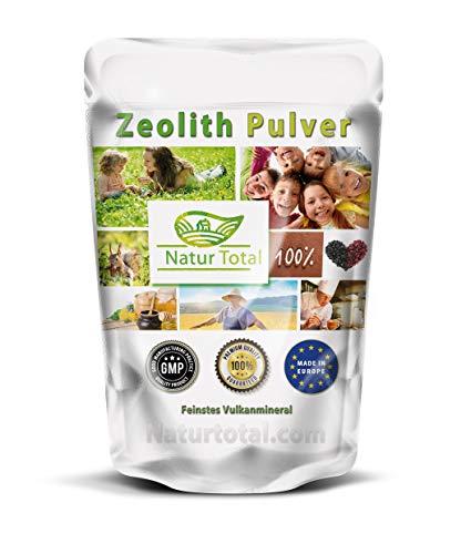 Extrafein Zeolith Klinoptilolith Pulver: 1000g Beutel Premium Qualität - mit 95% Klinoptilolith Anteil