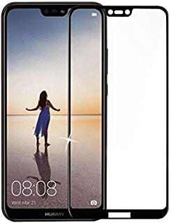 Huawei Nova 3e Black Framed Tempered Glass Screen Protector - P20 Lite