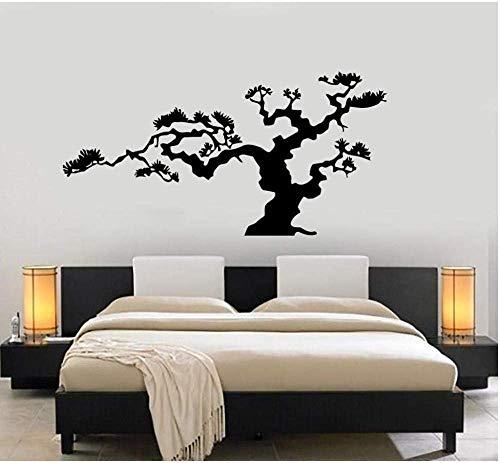 txucc Wall Stickers Bonsai Tree Wall Decals Natural DIY Decorative Vinyl Wall Decals Vinyl Wall Paper Personality Art Decal 56X110Cm