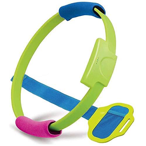 RUIXINBC Ring Fit Adventure voor Nintendo Switch accessoires, 1 fitness ring 1 beenriem en 2 stoffen handgrepen voor ring-con, online fitness voor yoga avontuurspel