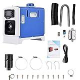 YsaAsaa Calefactor diésel con monitor LCD, 8 kW, 12/24 V,...