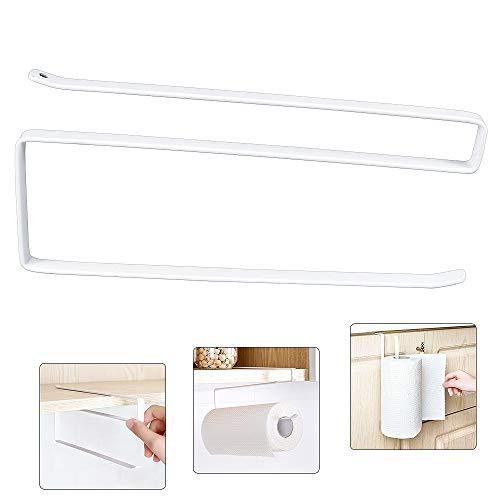 Hysagtek Küchenrollenhalter unter Regalboden, WC-Papier-Spender, Aufbewahrungshalter