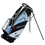 Sac de Golf pour Femme - Sac de Golf imperméable et Durable - Grande capacité - Sac de Golf léger, Nylon, Bleu, 86 *...