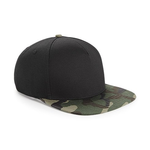 Casquette Hip Hop Snapback Camouflage Jungle