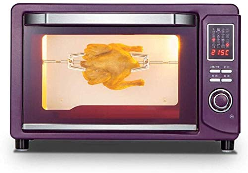 Rindasr Microondas encimera Horno, Horno eléctrico, Utensilios for el hogar, la cocción multifunción Horno eléctrico 30L Inteligente, se Puede Utilizar en la Cocina/pastelería/Restaurante/cafete