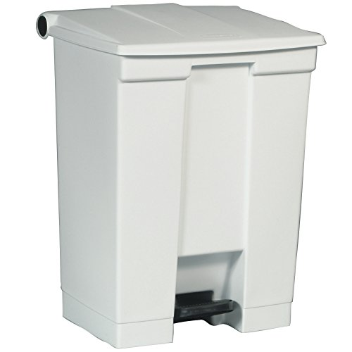 Rubbermaid Contentor com Pedal 60L Branco - RUBFG614500WHT