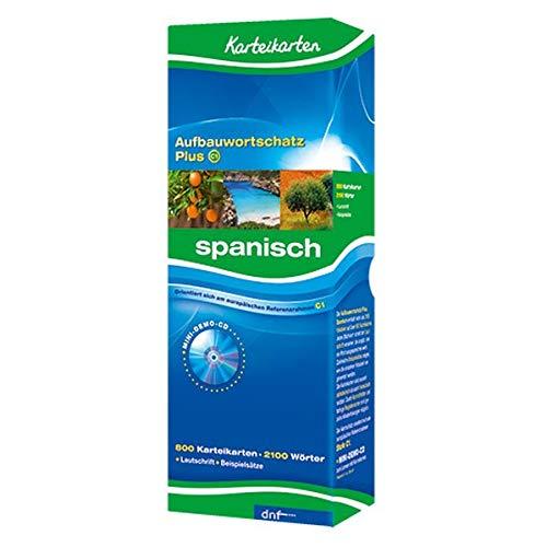 Karteikarten Aufbauwortschatz Plus - Spanisch Niveau C1