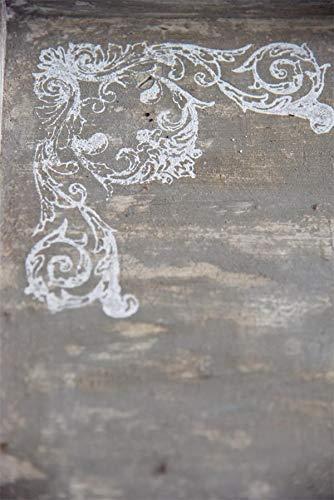 Jeanne d'Arc Living 702014 Vintage Stencil Stempel Hjoerne Shabby Chic Schablone Wiederverwendbar NEU