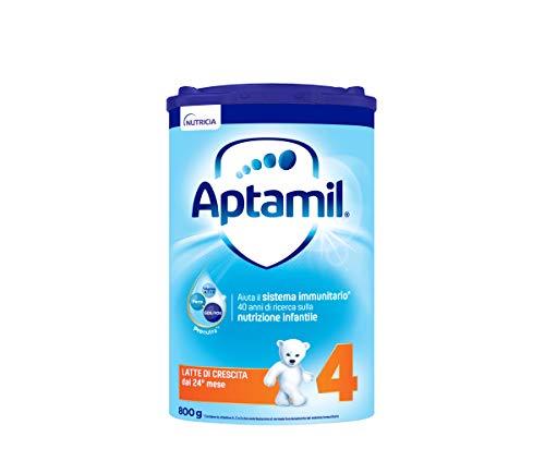 Aptamil 4, Latte di Crescita in Polvere Formulato per Neonati da 12 Mesi, Stage 4, 4 Pezzi, 3.2 Kg
