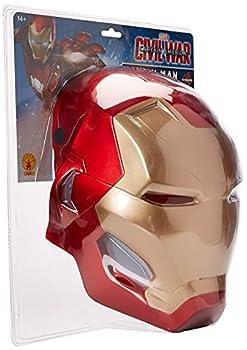 Rubie s mens Captain America  Civil War Iron Man 2-piece Costume Mask Multi One Size US