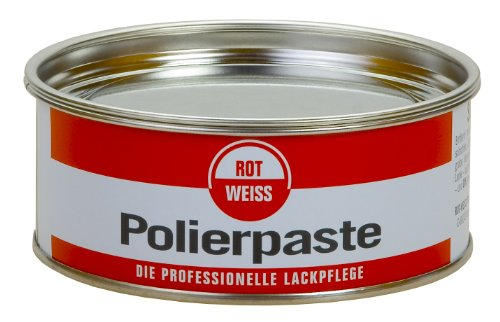 Rotweiss 1 Stück 200ml Polierpaste Profi Auto Politur KFZ Lack Pflege Paste