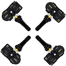 MOBILETRON MoreSensor | 4-Pack 433 MHz Snap-in Direct-Fit TPMS Tire Pressure Sensor for Subaru Crosstrek Legacy Outback | CX-S170-SN-4