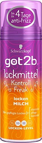 Schwarzkopf got2b Lockmittel Lockenmilch, 2er Pack (2 x 150 ml)