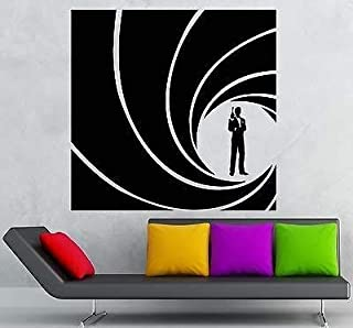 V-studios Vinyl Decal James Bond 007 Spy CIA FBI Secret Service Agent Wall Sticker VS998