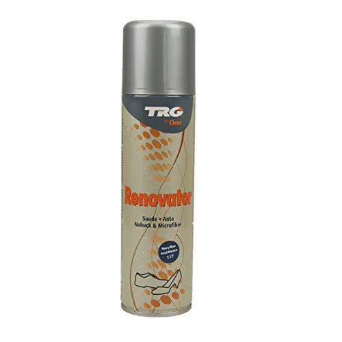 Langlauf Schuhbedarf TRG Renovator Wildleder Nubuk Microfaser Pflegespray Imprägnierspray (navy blau)