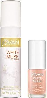 Jovan White Musk Women Cologne 96Ml And Body Spray 74Ml, 3.2 Fl Oz