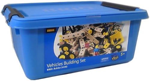 Brio 34582000 - Builder Kindergartenset, 284 Teile für 5 - 8 Jahre