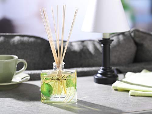 Yankee Candle 1348800E Vanilla Lime Firma Reed Diffusori, Legno, Multicolore, Signature Diffuser