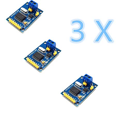 AptoFun 3pcs CAN-Bus Shield MCP2515 with TJA1050 Receiver SPI Protocol for Arduino SCM 51 MCU ARM Controller Development Board