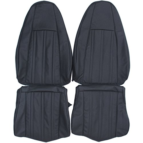 amc auto seat covers 1970-1974 AMC Javelin Genuine Leather Seats Cover Custom Made (Front) Bisque