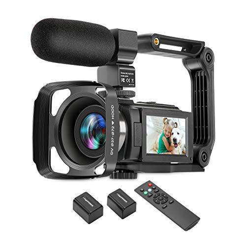 ZUODUN 4K Camcorder 60FPS Ultra HD...