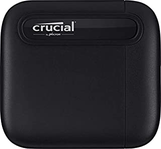 Crucial CT4000X6SSD9 X6 4TB Portable SSD – Up to 800 MB/s – USB 3.2 – External Solid State Drive, USB-C (B08W1KDM9K)   Amazon price tracker / tracking, Amazon price history charts, Amazon price watches, Amazon price drop alerts