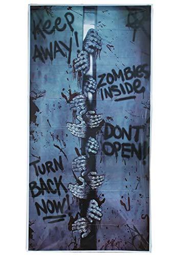 Generique - Décoration de Porte pour Halloween 46x152 cm