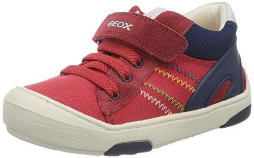 Geox B Jayj Boy C, Zapatillas Bebé-Niños, Rojo (Red C7000), 18 EU