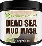 Mascarilla Negra De Barro Del Mar Muerto - Premium Nature Máscara Anti Espinillas Y Arcilla De...