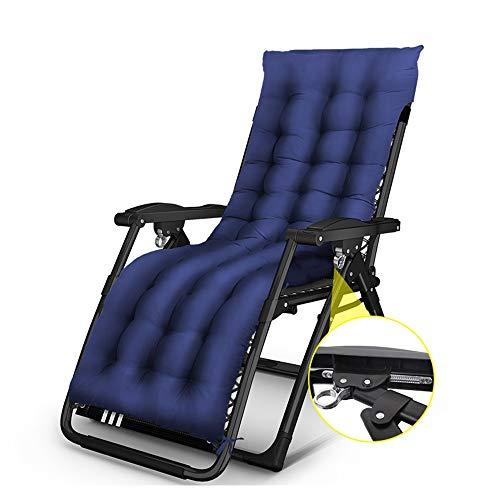 YNN Tuyau d'acier allié de Chaise de Plage portative de Chaise de Plage Pliante de Bureau de lit de déjeuner inclinable (Couleur : G)