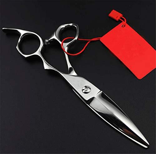 JIAHE Tijeras Profesionales de 6 Pulgadas, Tijeras de Sauce, Tijeras Grandes deslizantes, adecuadas para peluqueros y familias